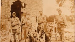 戦時中の写真をみて祖父に思いを馳せる