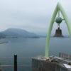 小豆島の天気は雨だった