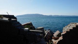 友ヶ島は天空の城ラピュタに似た無人島