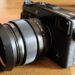 XF23mmに社外品レンズフード
